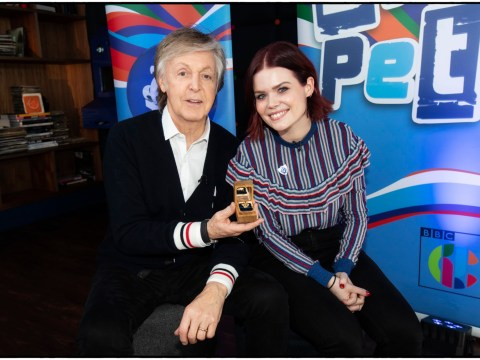 Sir Paul McCartney declares he's 'made it' as he's awarded prestigious gold Blue Peter badge