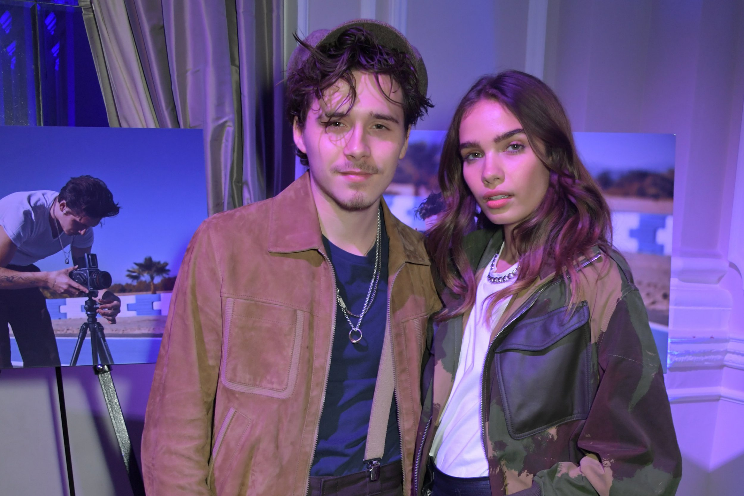 Brooklyn Beckham and girlfriend Hana Cross 'fall out over him drinking too much'