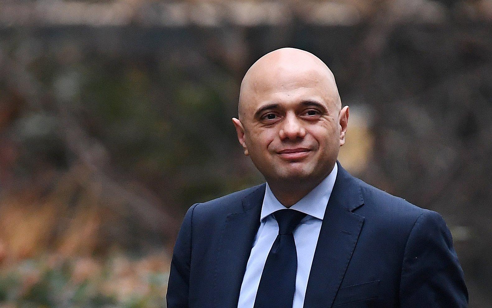 British Home Secretary Sajid Javid