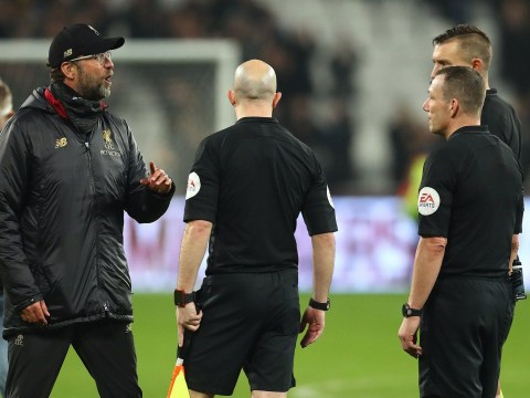 West Ham v Liverpool linesman axed from weekend's Premier League fixtures after offside blunder