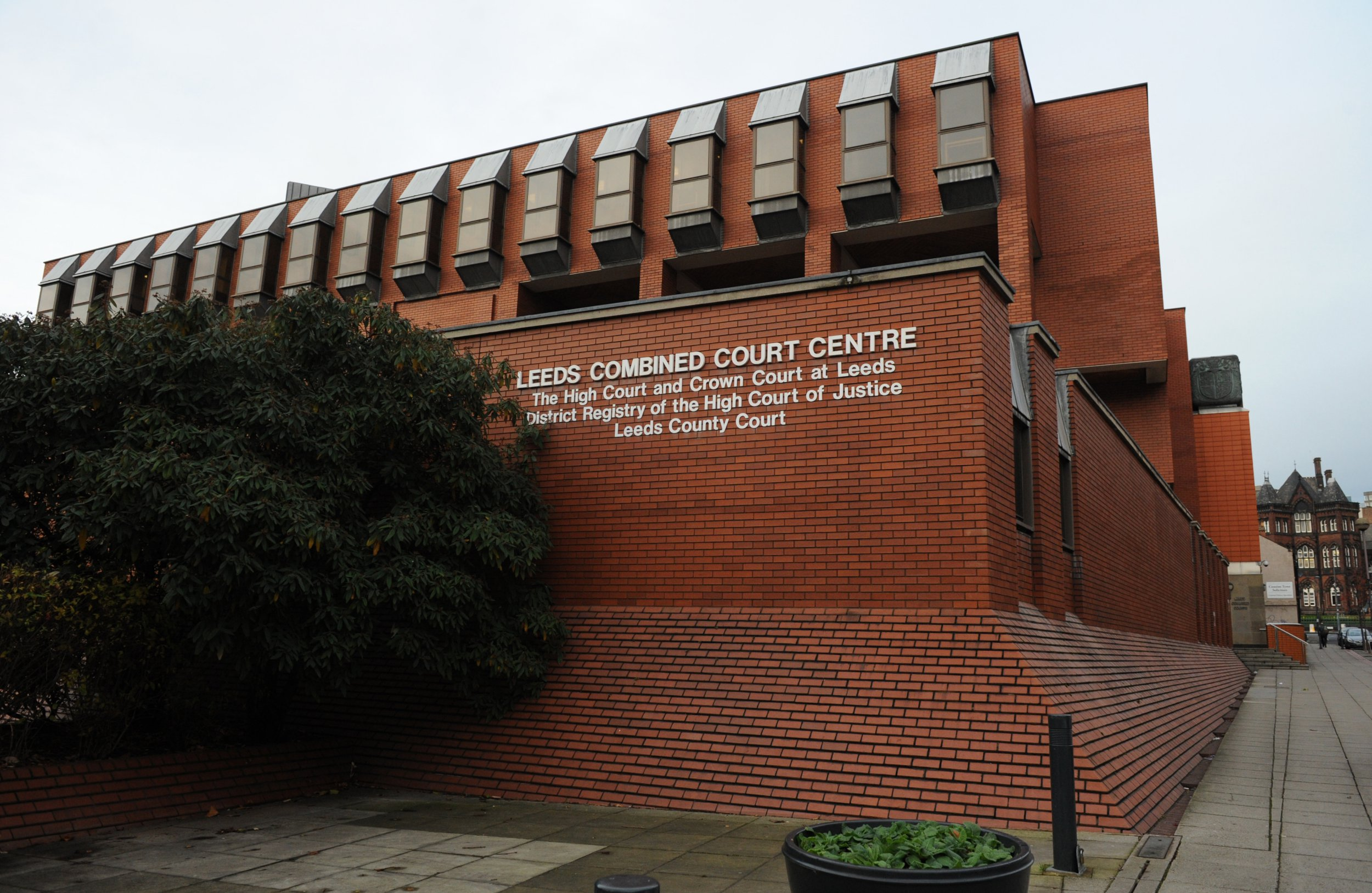 A general view of Leeds Crown Court.