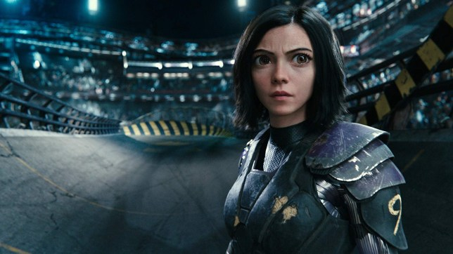 Rosa Salazar as Alita from Alita: Battle Angel