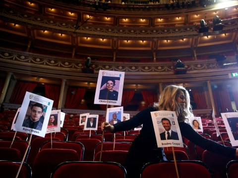 Bradley Cooper and Rami Malek to rub shoulders as Bafta uses heads-on-sticks to decide seating plan