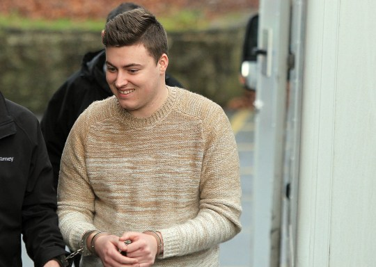 Dalton Thomas Morrissey, 26, arrives at Mold Crown Court Credit: Daily Post Wales