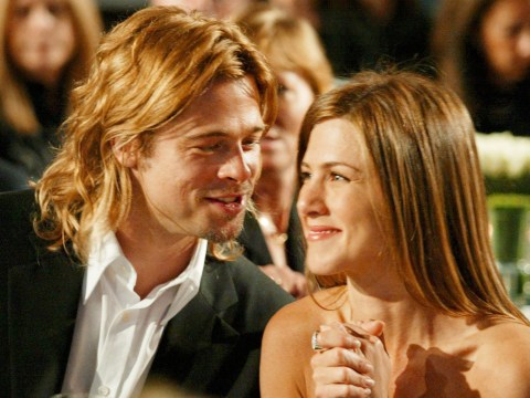 A timeline of Brad Pitt and Jennifer Aniston's relationship as he attends her 50th birthday