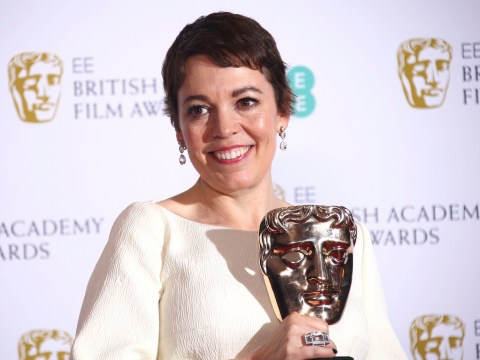 Olivia Colman vows to get 'so drunk' with The Favourite co-stars as she wins Best Actress