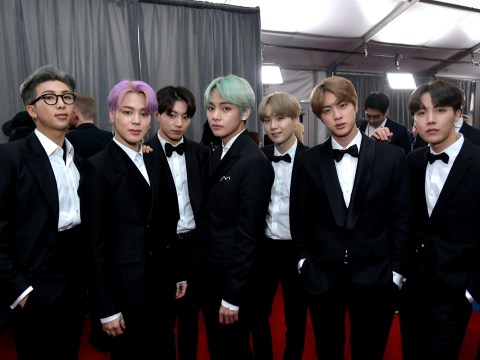 BTS open up on nerves before presenting Grammy and talk new album