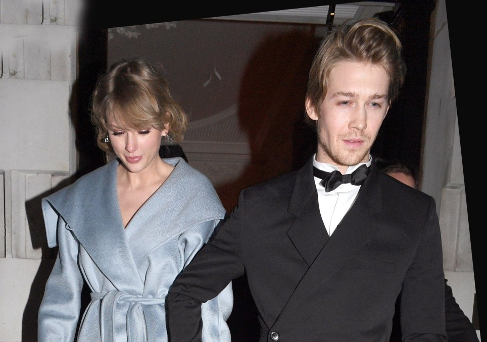 Taylor Swift and Joe Alwyn seen holding hands leaving Annabel's Private Members Club in London following Joe's success at the Bafta Awards ( British Academy Film Awards ) in London. Pictured: Taylor Swift, Joe Alwyn BACKGRID UK 10 FEBRUARY 2019 UK: +44 208 344 2007 / uksales@backgrid.com USA: +1 310 798 9111 / usasales@backgrid.com *UK Clients - Pictures Containing Children Please Pixelate Face Prior To Publication*