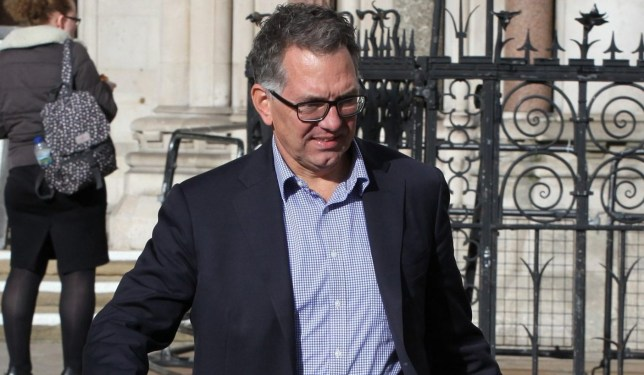 Champion News: 07948286566/07914583378 news@championnews.co.uk Picture shows Marcel Kooter, 57, outside London's High Court. / re: Marcel Kooter 'blinded by attraction' when he met Manuela Radeva on Tinder - Oil industry consultant, 57, lavished her with designer gifts, hotel stays and trips - He claims Ms Radeva lied about being a financier and had married weeks earlier - She said Kooter gave her money to support their 'expensive, luxurious lifestyle' Judge has ordered Ms Radeva to pay back more than ?182k and ?20k legal costs