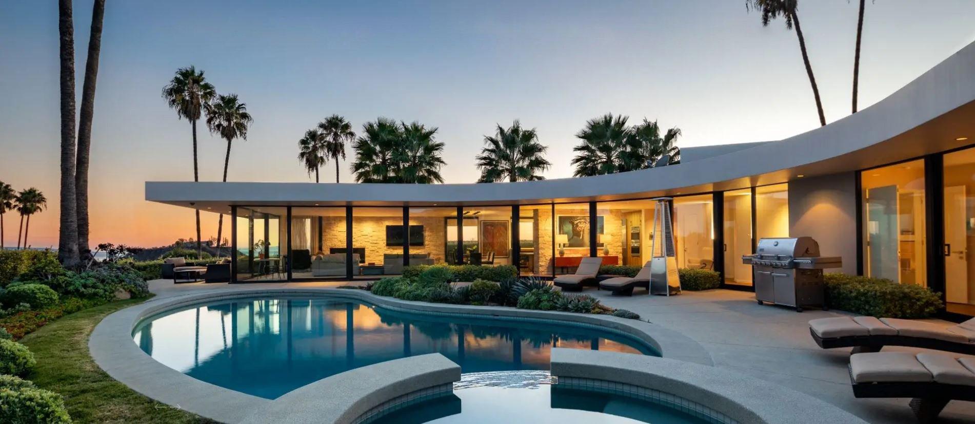 METRO GRAB from https://hiltonhyland.com/ Take a look at Elon Musk's palatial LA home Credit: Hilton & Hyland - https://hiltonhyland.com/