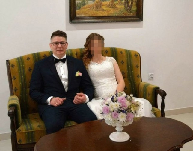 Pawel Relowicz seen here with wife Jagoda. Police investigating the  disappearance of Hull University student, Libby Squires, have arrested a  24-year-old ...
