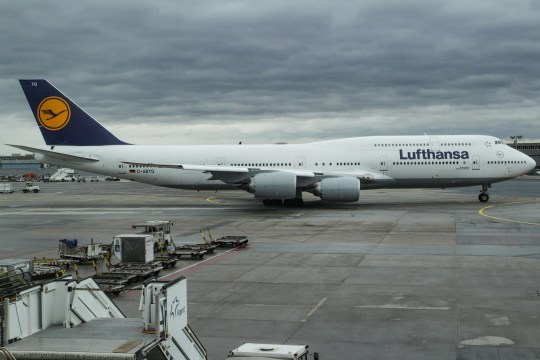 Lufthansa's fleet as seen in Frankfurt Airport in Germany, the primary hub for the airline. Lufthansa is the world's 10th largest airline by passengers carried in 2016. The airline owns a fleeet of 273 aircrafts and 130 orders. Lufthansa both operates the super jumbo jets Airbus A380 and Boeing 747-8 and 747-400. Lufthansa is also the launch customer of the Airbus A320neo series and already flies the A350. The airline is one of the founder members of Star Alliance aviation affiliation. Frankfurt airport is an international airport connecting the German city to the world (Photo by Nicolas Economou/NurPhoto via Getty Images)