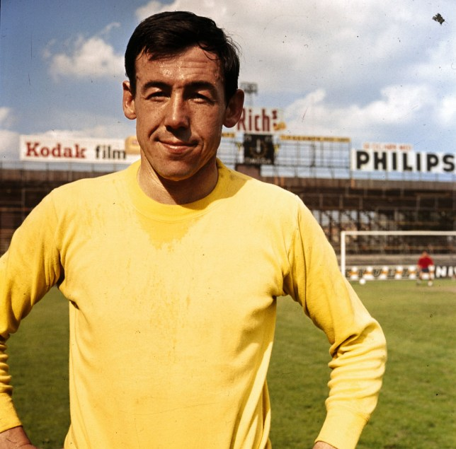Stoke City goalkeeper Gordon Banks in 1970