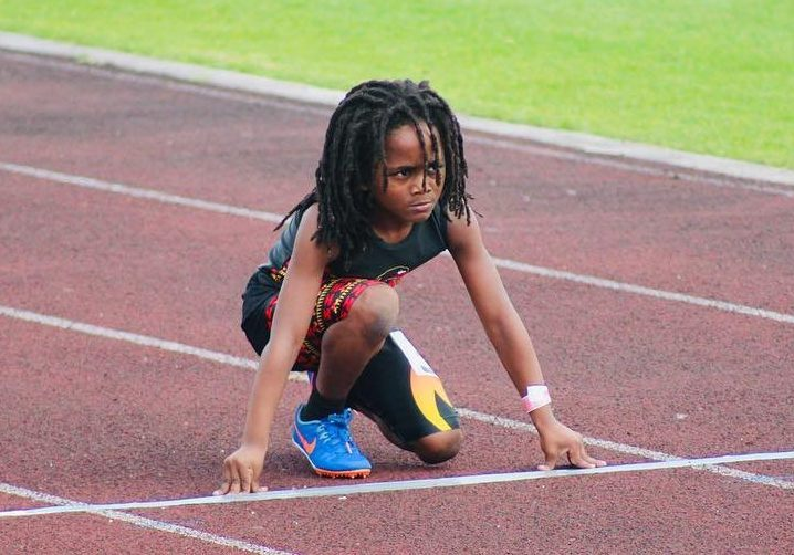 6696903 Ridiculously Fast 7-Year-Old Sprinter Obliterates His Competition