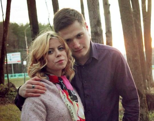 Alexandra Shaposhnikova, victim, with Oleg Myshdaev, killer