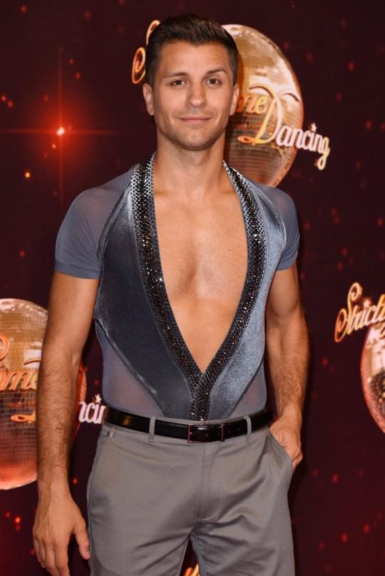 Mandatory Credit: Photo by David Fisher/REX/Shutterstock (5848946fk) Pasha Kovalev 'Strictly Come Dancing' launch, Elstree Studios, Hertfordshire, UK - 30 Aug 2016