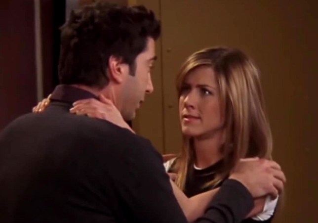 It's 22 years today since Ross and Rachel went on a break - happy Valentine's Day!