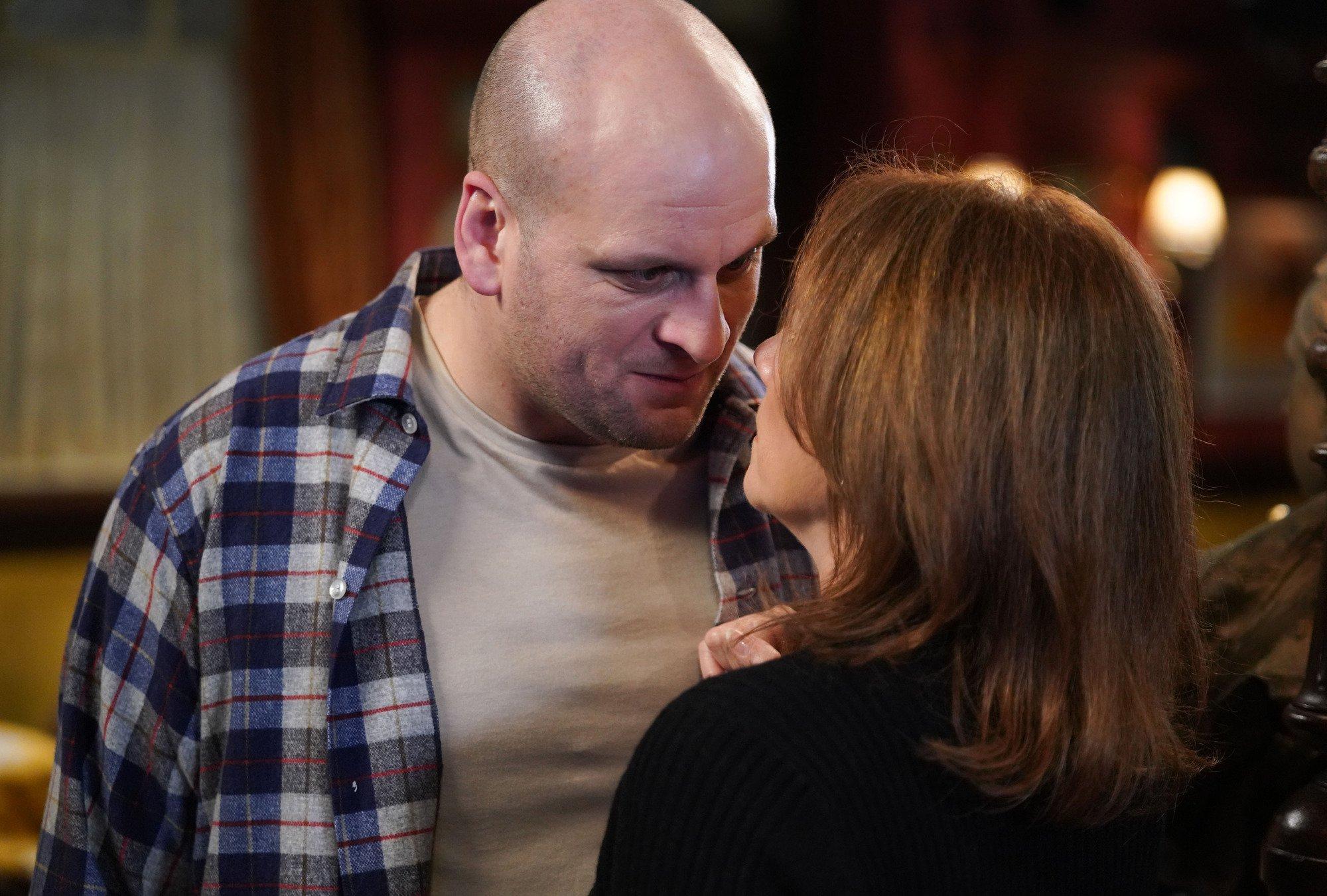 Stuart is rumbled by Rainie