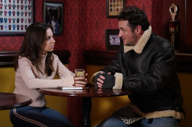 Martin Fowler and Ruby Allen in EastEnders