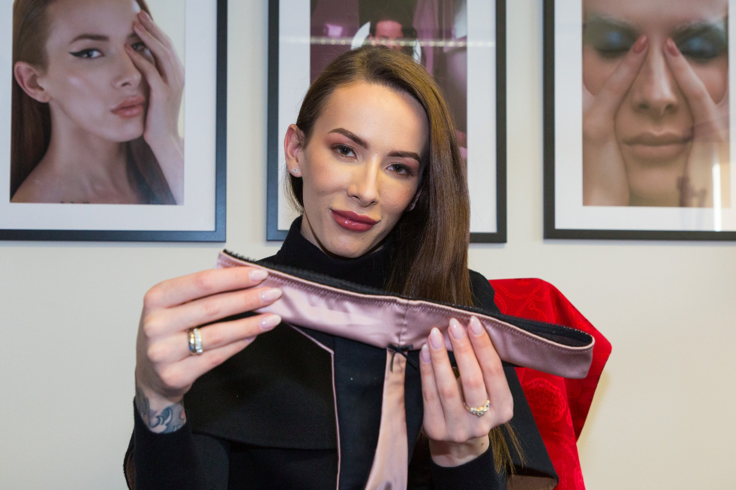 Londoner creates lingerie brand for transgender women