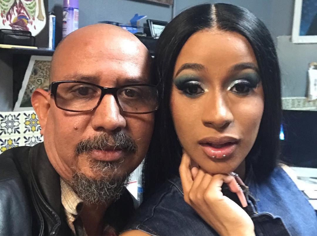 Cardi B celebrates major Grammys win by getting her lip pierced twice for $25