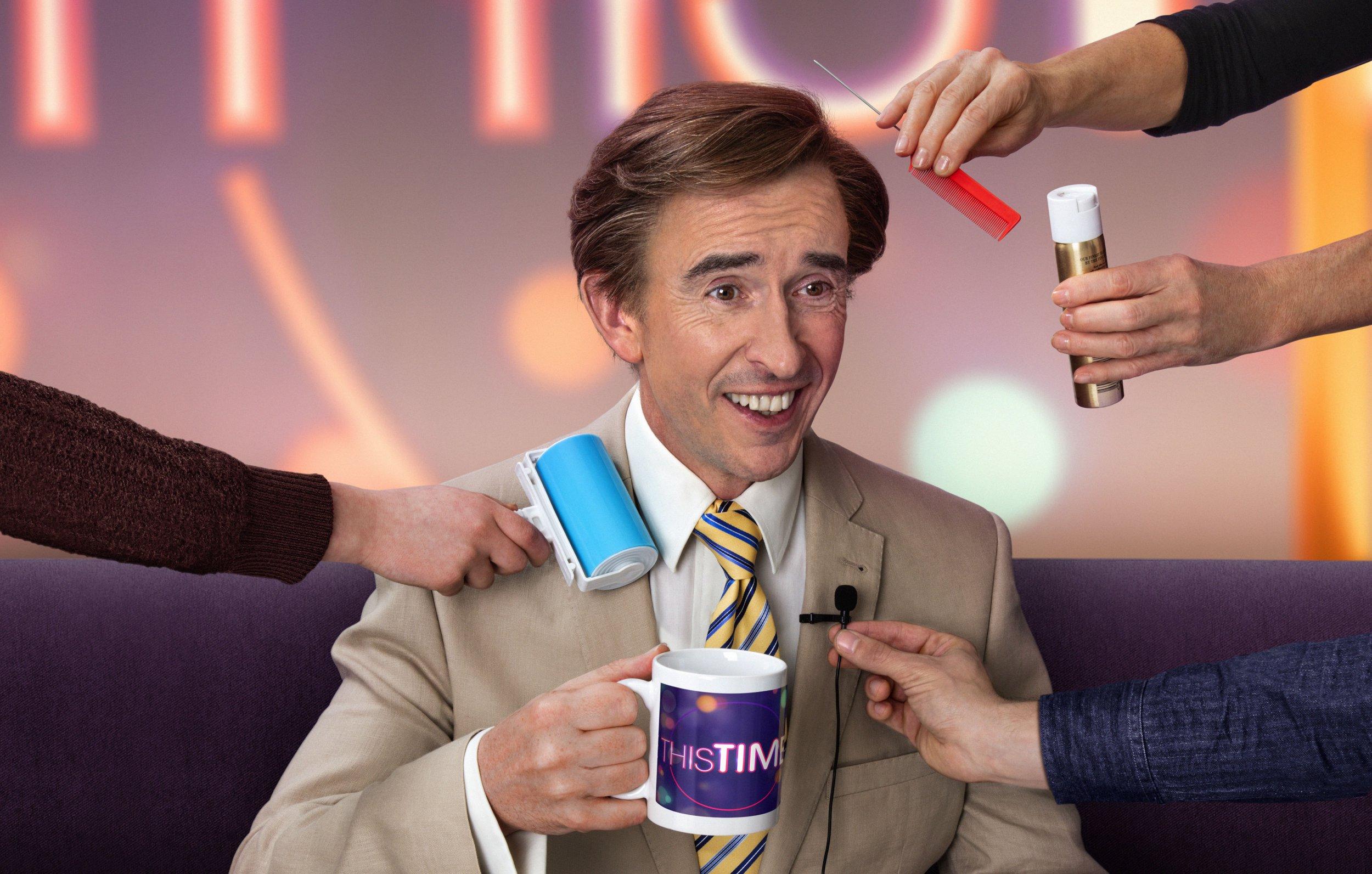 The nation has gone Alan Partridge mad as British comedians celebrate 'genius' return