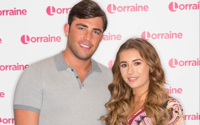 Editorial use only Mandatory Credit: Photo by Ken McKay/ITV/REX/Shutterstock (10070302u) Jack Fincham and Dani Dyer 'Lorraine' TV show, London, UK - 22 Jan 2019