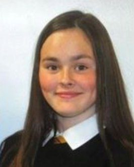 Evie Wright. See SWNS story SWBRpupil; A 'happy and kind'' teenager was struck and killed by a train as she walked across a level crossing looking at her phone, an inquest heard today (Thurs). Popular Evie Wright, 15, a high-achieving pupil who excelled at sports and ''loved life'', was ''on the track looking at her phone'' just before she was struck. The teen had gone to school as normal then returned home where she sent a message to a friend with a picture of a dress she was going to wear to a sleepover. She 'seemed happy' and went out again and started to return home when she opened a gate and walked across a railway pedestrian crossing.