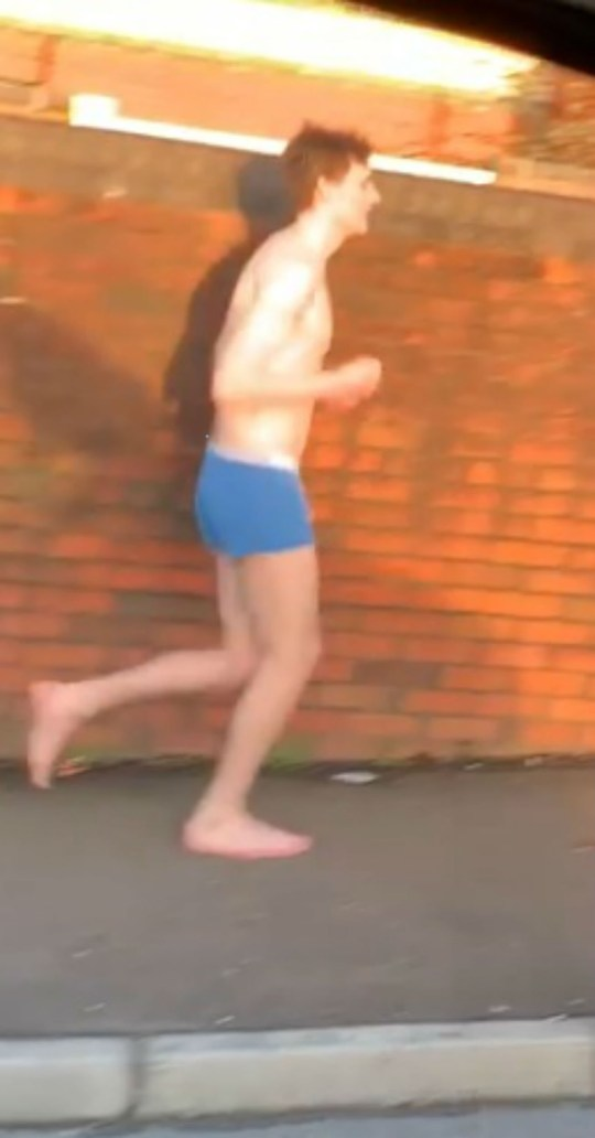 Erotic story boy jogging running anal