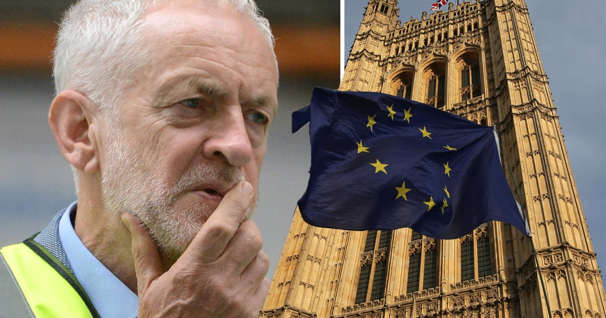 Labour on 'verge of splitting' over Corbyn's Brexit stance