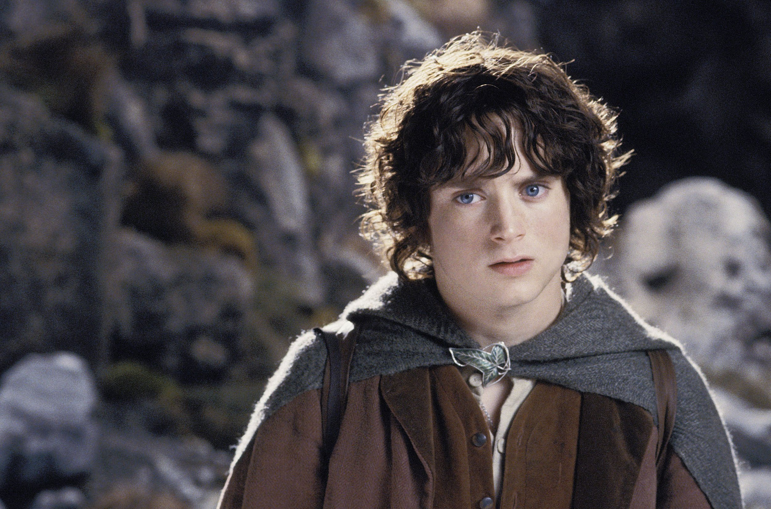 Elijah Wood as Frodo Baggins in Lord of The Rings