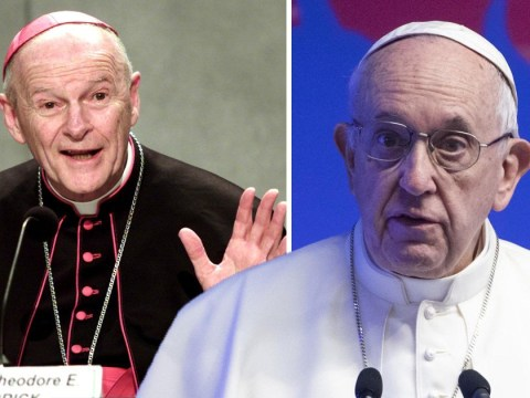 Pope Francis defrocks former US Cardinal for groping boys as young as 11