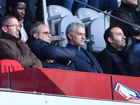 Former Manchester United boss Jose Mourinho spotted on scouting trip to watch Lille stars