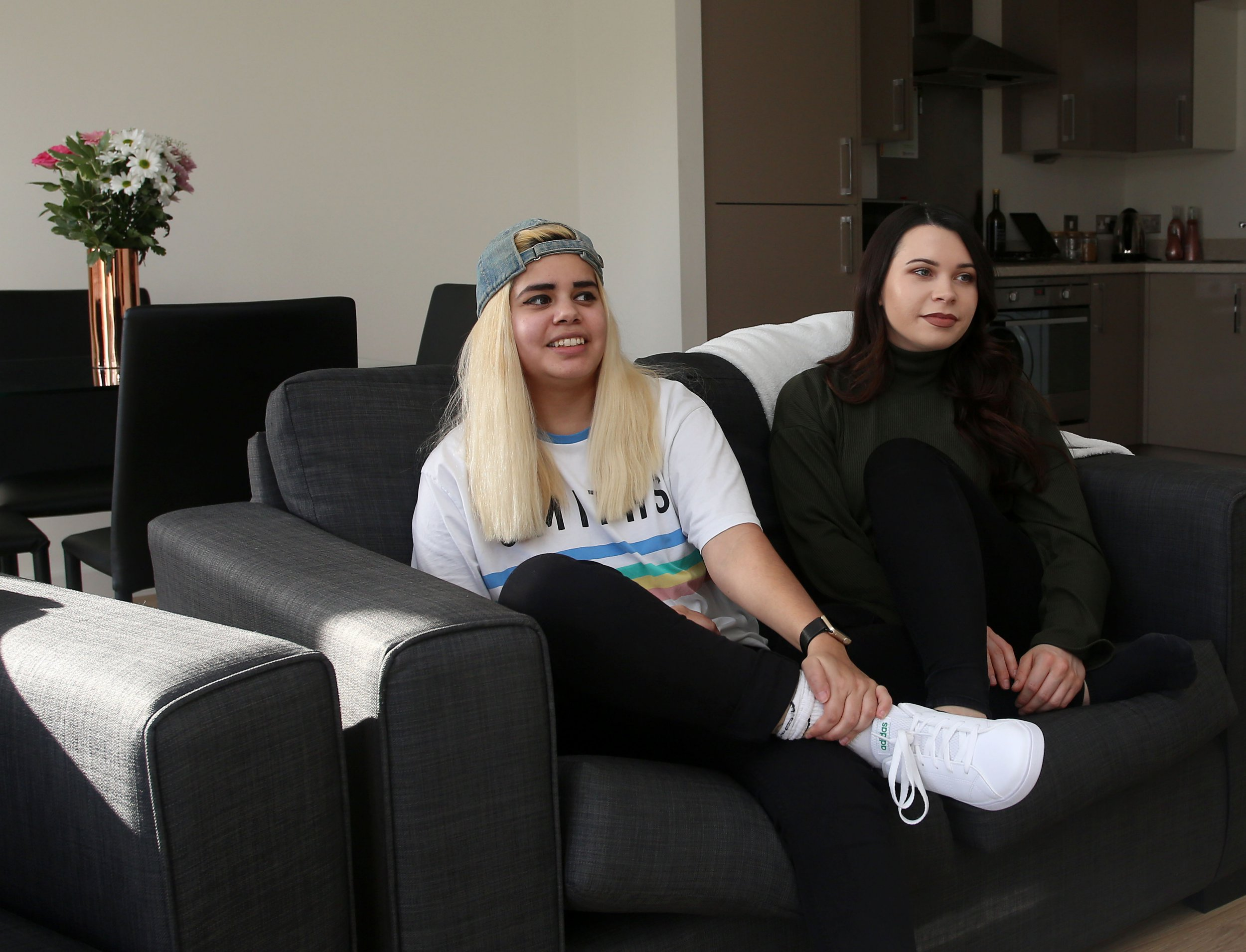 What I Rent: Charlotte and Chloe, £648 each for a one-bedroom flat in Arnos Grove
