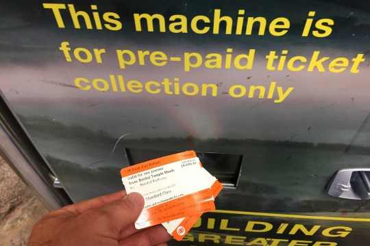File photo dated 14/08/18 of a customer using a rail ticket machine. Proposals for a sweeping overhaul of rail ticketing in Britain aim to stop passengers having to buy split tickets to get the cheapest fares for some journeys. PRESS ASSOCIATION Photo. Issue date: Monday February 18, 2019. See PA story RAIL Tickets. Photo credit should read: Ben Birchall/PA Wire