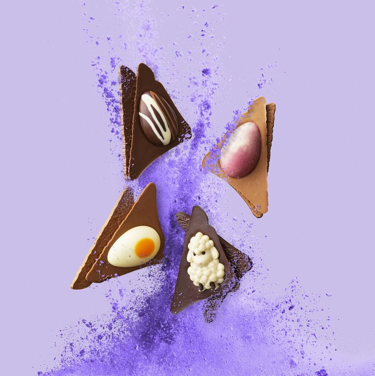 Hotel Chocolat is doing cookie dough and chocolate spread Easter egg sandwiches Credit: Hotel Chocolat