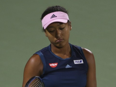 Naomi Osaka loses first match without Sascha Bajin as she endures tough start to life as world No. 1