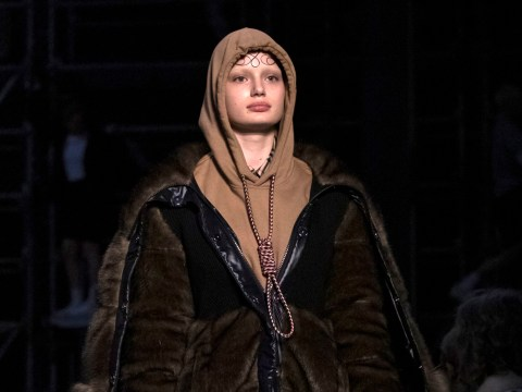 Burberry apologises for showing hoodie with 'noose' around the neck at London Fashion Week