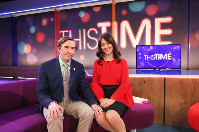 Programme Name: This Time with Alan Partridge - TX: n/a - Episode: This Time with Alan Partridge - Ep 1 (No. n/a) - Picture Shows: Alan Partridge (STEVE COOGAN), Jennie (SUSANNAH FIELDING) - (C) Baby Cow - Photographer: Colin Hutton