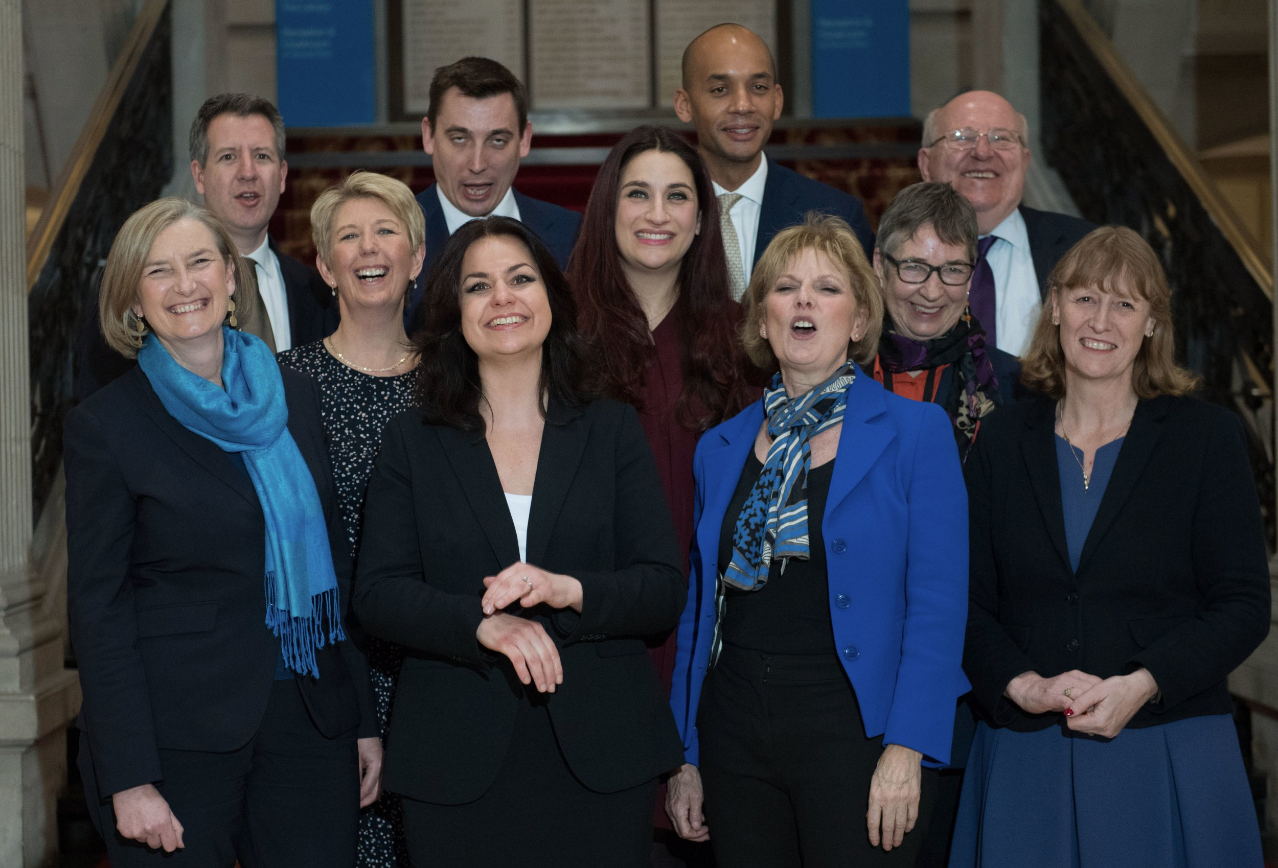 What is the Conservative Majority and how could it be affected by the Independent Group?