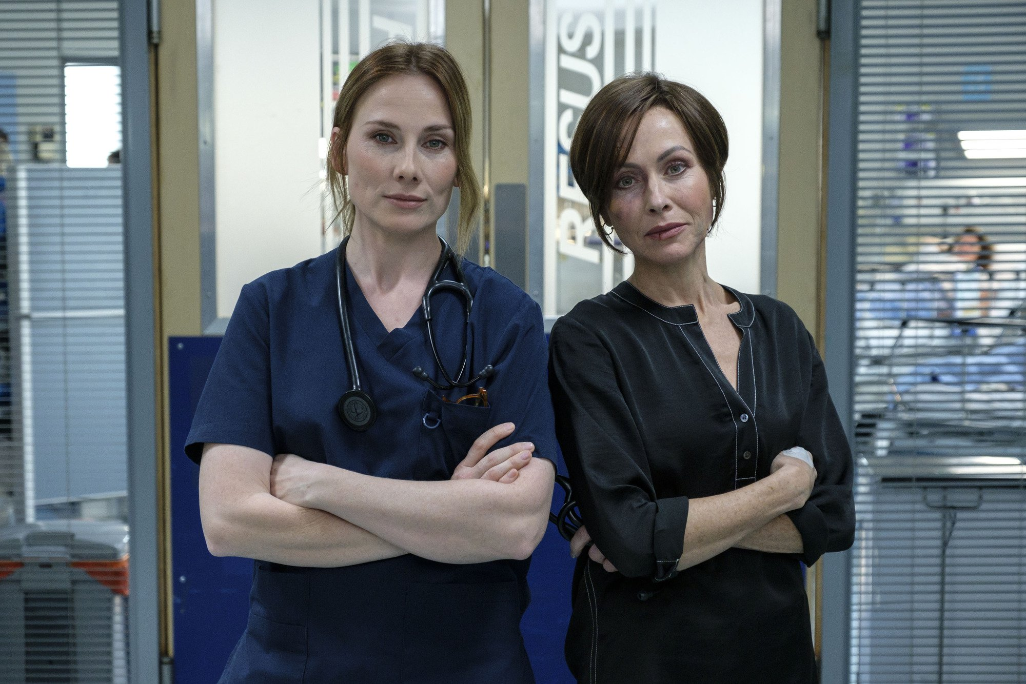 Holby City and Casualty spoilers: Connie Beauchamp and Jac Naylor go head to head in devastating crossover episode