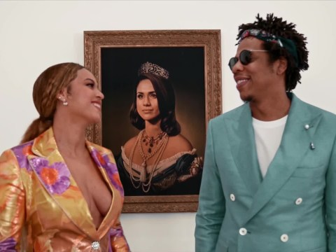 Meghan Markle portrait artist reacts to Beyonce and Jay-Z's Brits acceptance video