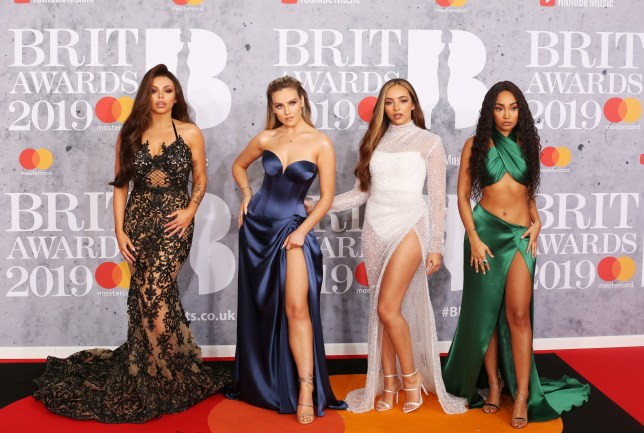 Celebrities attend the Brit Awards 2019 at the 02 Arena in London Pictured: Little Mix,Leigh-Anne Pinnock,Jesy Nelson,Jade Thirlwall,Perrie Edwards Ref: SPL5065948 200219 NON-EXCLUSIVE Picture by: Brett D. Cove / SplashNews.com Splash News and Pictures Los Angeles: 310-821-2666 New York: 212-619-2666 London: 0207 644 7656 Milan: 02 4399 8577 photodesk@splashnews.com World Rights,