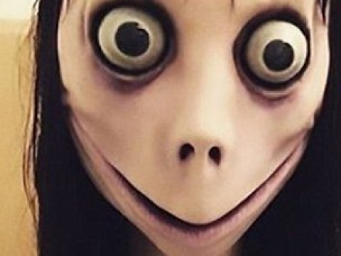 What is the Momo challenge on YouTube and who came up with it?