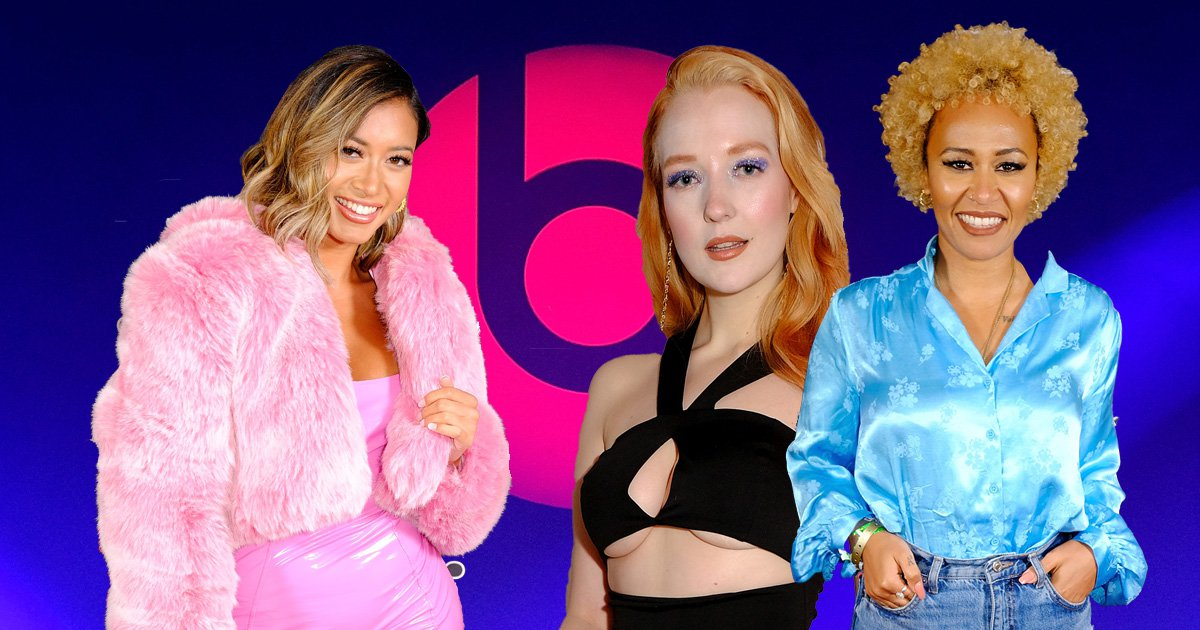 Love Island's Kaz Crossley parties with Emeli Sandé and Naughty Boy at rowdy Beats By Dr Dre Brits after-party