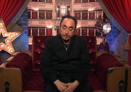 Editorial use only Mandatory Credit: Photo by REX/Shutterstock (5541860cd) David Gest tells Big Brother he will be leaving the house 'Celebrity Big Brother' TV show, Elstree Studios, Hertfordshire, Britain - 17 Jan 2016