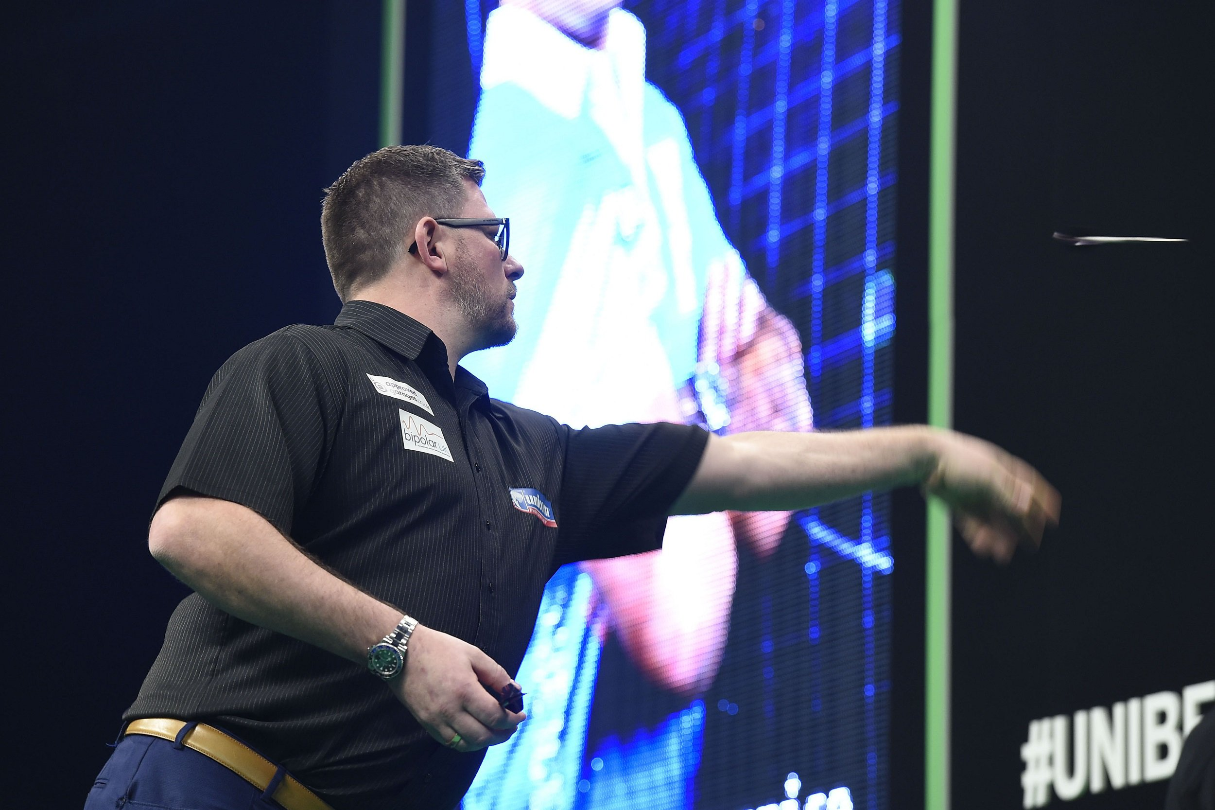 James Wade 'disappointed' with 'nonsensical' Gerwyn Price comments after Premier League Darts clash