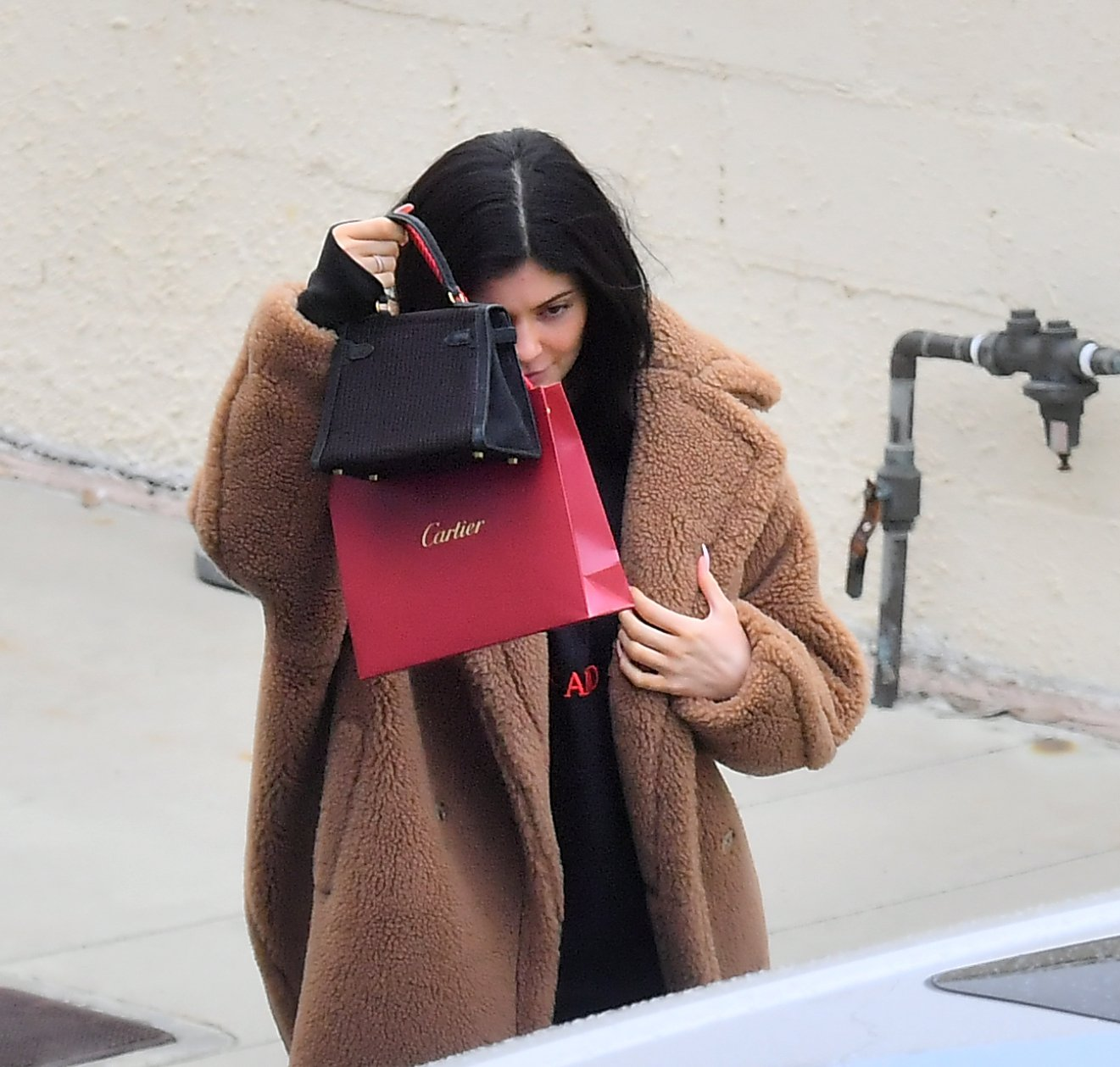 Kylie Jenner seen in public for the first time since it was reported that her Best friend jordyn woods cheated with Tristan Thompson. The reality Star Was seen shopping for jewelry with a friend. 21 Feb 2019 Pictured: Kylie Jenner. Photo credit: Marksman/Snorlax / MEGA TheMegaAgency.com +1 888 505 6342