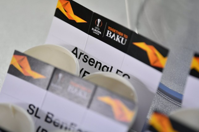 Europa League draw: Who will Arsenal and Chelsea face in the Europa League last 16?