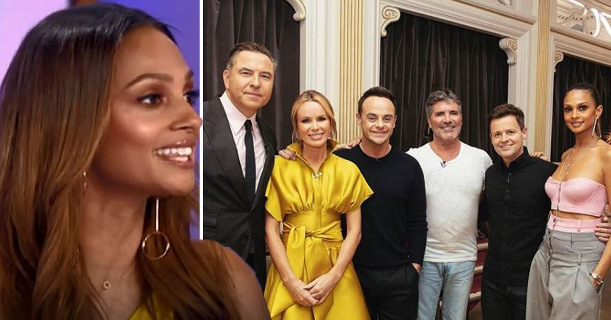 Alesha Dixon admits Ant McPartlin's Britain's Got Talent return was 'emotional'